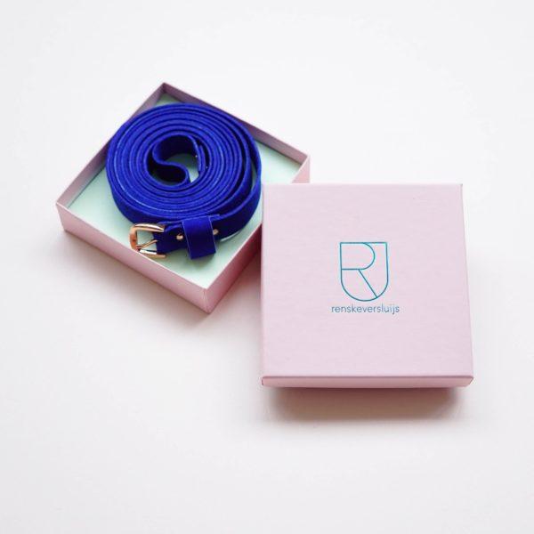 Ceintuur-blauw