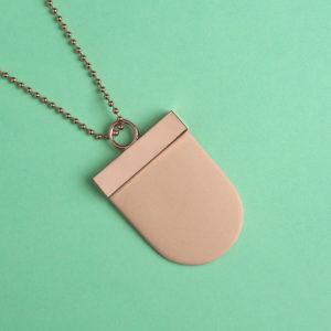 Renske Versluijs necklace cuivre