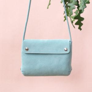 renskeversluijs handbag mint detail