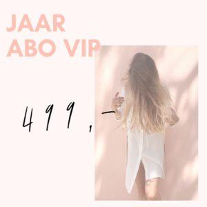 VIP abonnement kledingbieb